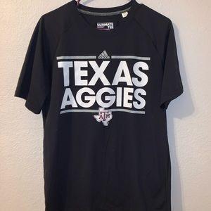 Men's Texas A&M Aggies Black Dassler Short Sleeve